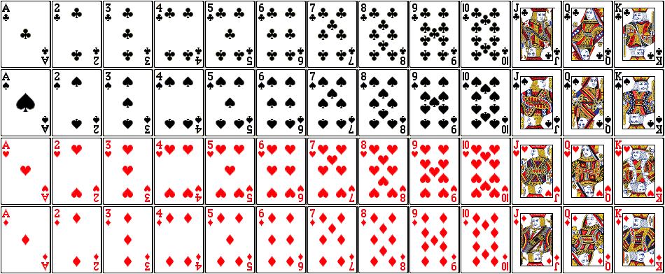 52 lembar Kartu Remi